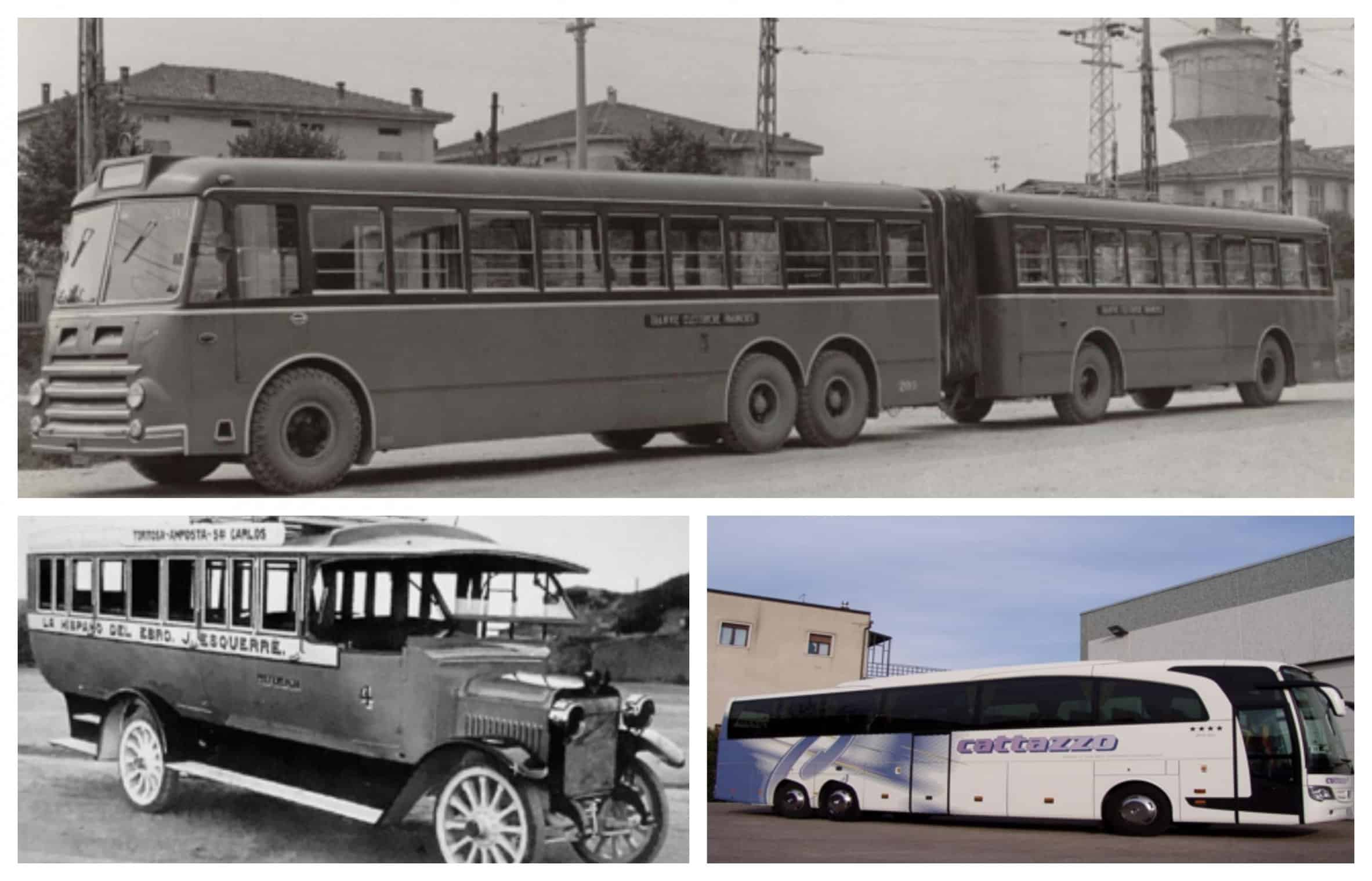 Bus evolution scaled