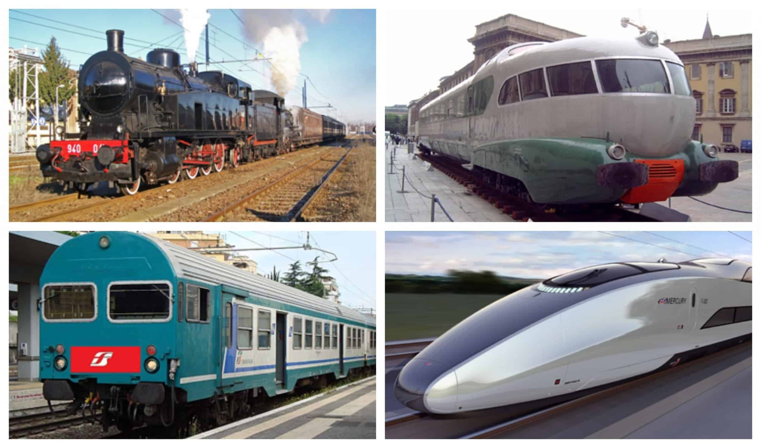 Train evolution scaled