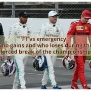 F1 vs emergency: who gains and who loses during this forced break of the championship