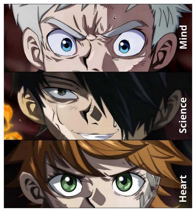 The Promised Neverland Review characters
