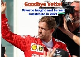 Vettel leaves Ferrari