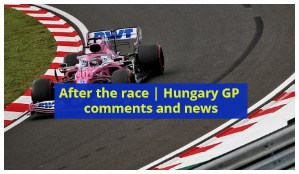 Hungary gp results news
