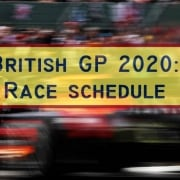 F1 British GP | Race schedule - Silverstone preview