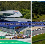 F1 Styrian GP | Race schedule and Mugello back to F1