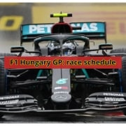 F1 Hungary GP | Race schedule - why is a decisive race for Ferrari