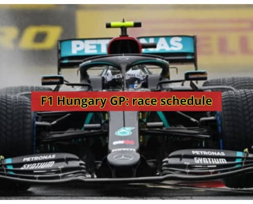 hungary gp f1 race schedule