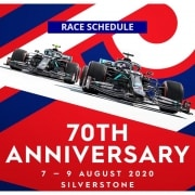 F1 70th anniversary GP | Race schedule - Racing Point penalty