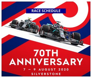race schedule 70th gp