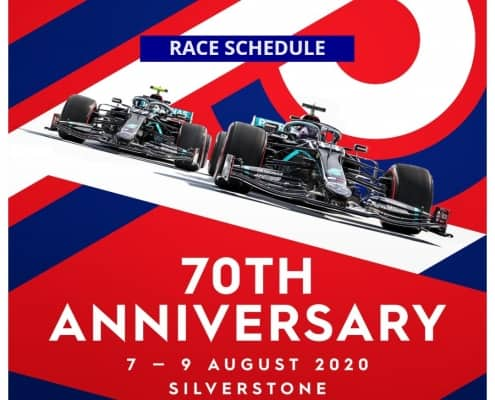 race schedule 70th gp f1
