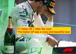 After the race Gasly win monza f1 2020