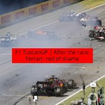F1 Tuscan GP | After the race: Ferrari- red of shame