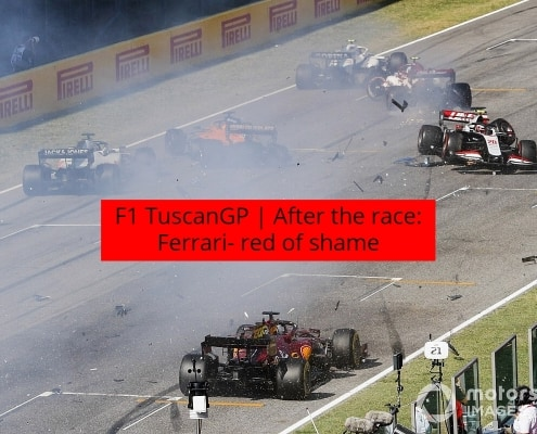 After the race TuscanGP F1