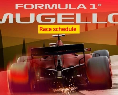 F1 Mugello Tuscan Gp 2020 race scheduel